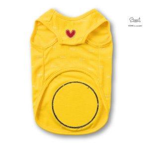 画像2: 大きなムーンスマイルTシャツ 【イエロー】