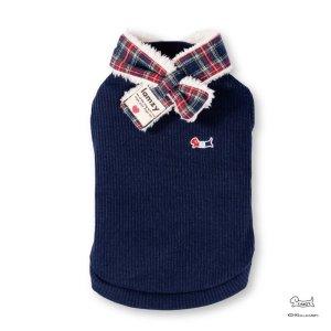 画像1: マフラー付き セーター